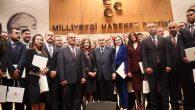 MHP siyaset okulu fidan bağışı Hatay'a