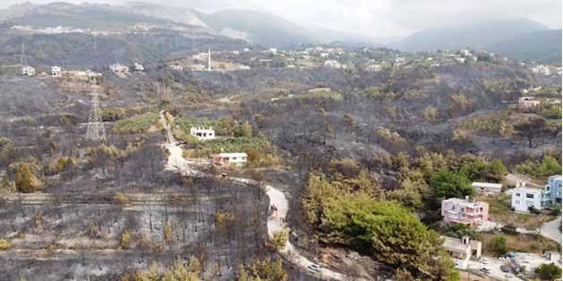 Orman Yangını Soruşturması Delil, Şüpheli Yok…