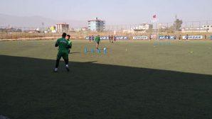 U-17 Gençleri Defne Stadında