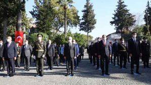 97.Yıldönümünde Valilik'te Cumhuriyet Tebrikatı