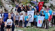Rotaryenler Dağ Yürüyüşünde