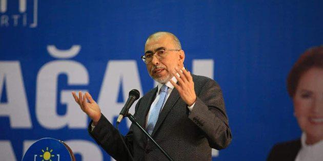 İYİ Parti İl Başkanı Şefik Çirkin, FETÖ İddialarına sert çıktı: