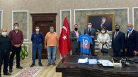 Arsuz Belediyespor Ziyareti Kaymakam'a