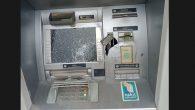 MKÜ Bankamatik'i  Parçalandı
