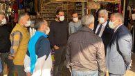 CHP-PM üyesi  Zeybek, Antakya Uzun Çarşı'da