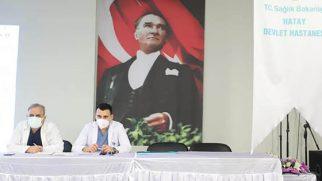 Devlet Hastanesinde yöneticilerin mesai dışı toplantısı
