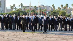 İskenderun'da 82.yıldönümü Anması
