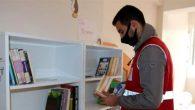 Büyükoba'da, adına kitaplık…