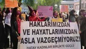 Kadınlar Hakları İçin Sokaktaydı