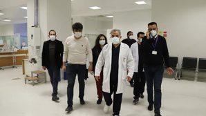 Hatay Devlet Hastanesinde kovid yükü olanlardan…