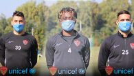 Hatayspor futbolcularından Çocuklara Destek: