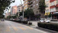 Cadde ve Sokaklar Sessizliğe Büründü