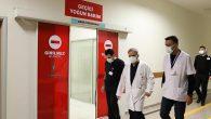 Devlet Hastanesi Başhekimi, günün ilk saatinde kontroldeydi: