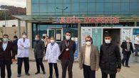 İl Müdürü Kırıkhan Hastanesinde