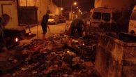 Sanayi çöpleri toplandı