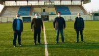 Hüseyin Yayman stadı gezdi