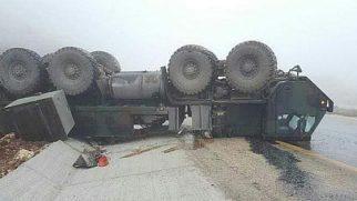 Yayladağı yolunda kaza: