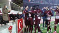 Vali, Hatayspor'un galibiyetini ayakta alkışladı