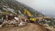 BŞB ekipleri Yayladağı'nın dağ yollarında