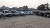 Samandağ Belediyesi 18 araç satın aldı
