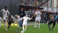 İç sahada ilk yenilgi 0-1