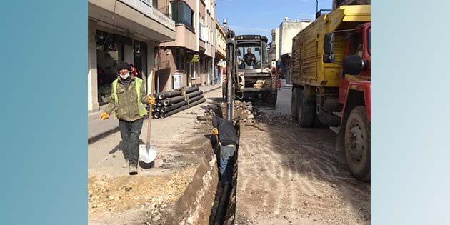 Kurtuluş caddesi 4 gün trafiğe kapatıldı
