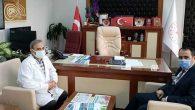 İl Müdürü Hambolat'tan Bayrakçıoğlu'na  Geçmiş Olsun Ziyareti