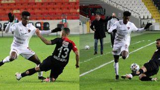 Gaziantep-Hatayspor maçında 2.yarıda oyuna girdi