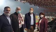 CHP'li milletvekilleri Hatayspor için tribünde