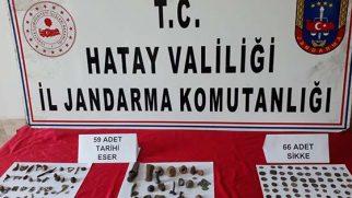 Reyhanlı'da tarihi eser kaçakçılığı