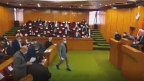 CHP'liler meclisi terketti