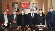 AKP'Lİ 5 vekil tebrik ziyaretinde