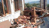 Fırtına Samandağ'da hayatı olumsuz etkiledi