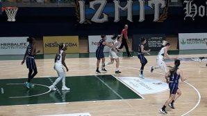 Melekler, son 2 maçı yarım basketle kazandı