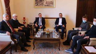 Rus Yöneticiler Antakya'da…