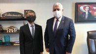 Tayvan Büyükelçisi Sürpriz Ziyareti Tokdemir'e…