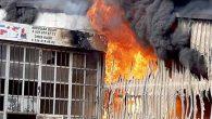 Sanayi Sitesi Yangını Korkuttu