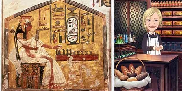 İlk mayalı ekmek Mısır'da yapılmıştır