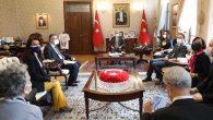 AB Delegasyonu Hatay'da, Gündem Suriye