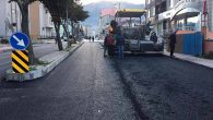 Hatay BŞB asfalt ekipleri gece çalıştı