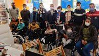 Rotary'den Hatay'da 4 çocuğa akülü sandalye