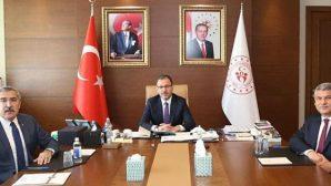 Bakan'la Stat  Açılışı Görüşmesi