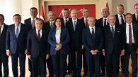 CHP'li 11 BŞB Başkanı İzmir'de