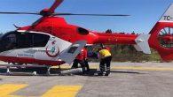 Hatay'dan Ankara'ya helikopterle hasta nakli