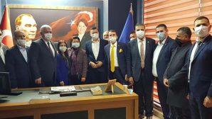 CHP Heyeti Ziyareti İyi Parti'ye