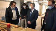 Büyükelçi, Antakya'da Mobilya Atölyesini gezdi, hayran kaldı…
