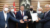 Hatay BŞB'ye gastronomi ödülü