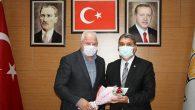 AKP İl Başkanına tebrik İstanbul'daki Hataylıdan