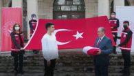 Türk Bayrağı Hatay'dan Yola Çıktı