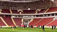 Hatayspor yeni stadyumda